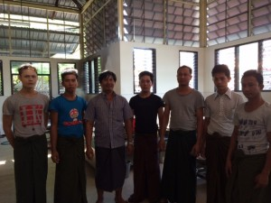 A few of the deva-like Kitchen Staff and Cooks at MSY, Yangon.