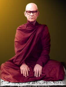 The late Venerable Mahasi Sayadaw